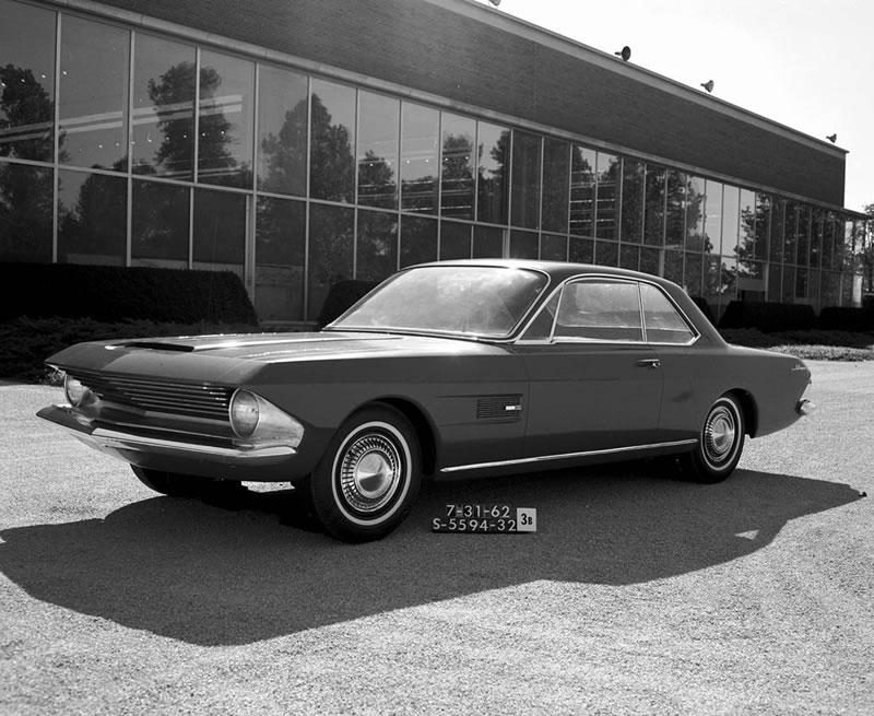 Los 10 modelos de Mustang que nunca se materializaron - 2-mustang-prototipo-gene-bordinat-1962