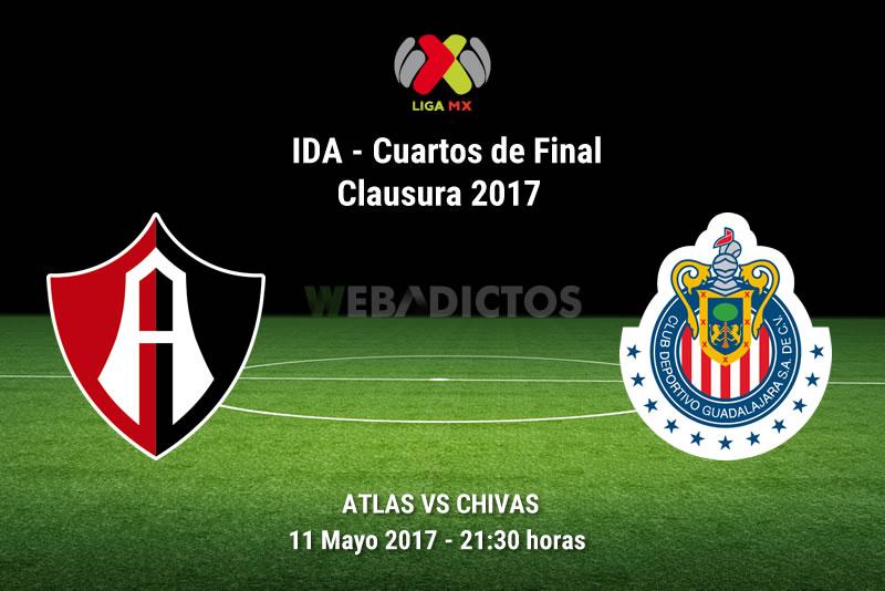 Atlas vs Chivas, Cuartos de Final C2017 | Resultado: 1-0 - atlas-vs-chivas-liguilla-clausura-2017
