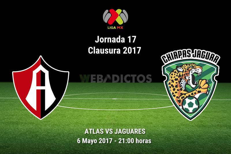 Atlas vs Jaguares, J17 Liga MX Clausura 2017 | Resultado: 0-1 - atlas-vs-jaguares-chiapas-j17-clausura-2017