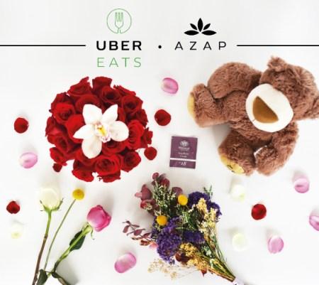 Para el día de las Madres, AZAP entregará flores y regalos a través de UberEATS