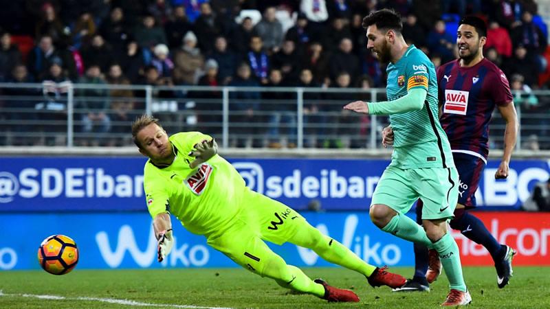 Barcelona vs Eibar, Liga de España 2017   Resultado: 4-2 - barcelona-vs-eibar-liga-2017