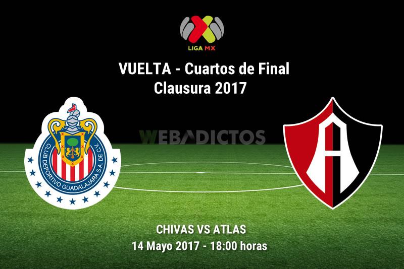 chivas vs atlas liguilla clausura 2017 Chivas vs Atlas, Liguilla del Clausura 2017 | Resultado: 1 0
