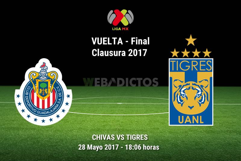 Chivas vs Tigres, Final Liga MX Clausura 2017 | Resultado: 2-1 ¡Chivas Campeón! - chivas-vs-tigres-final-clausura-2017-28-mayo