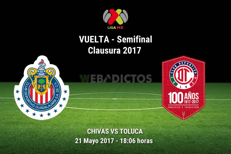 Chivas vs Toluca, Semifinal Clausura 2017   Resultado: 1-1 - chivas-vs-toluca-semifinal-liguilla-clausura-2017