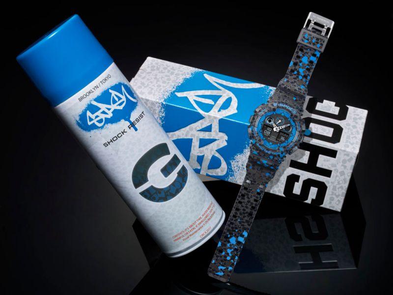 Nuevo reloj G-Shock en colaboración con el artista de graffitti STASH, de edición limitada - ga-100st-2a_01-g-shock-por-stash-800x600