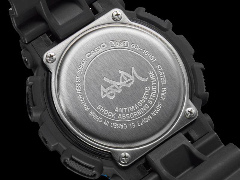 ga 100st 2a 06 copia 800x600 Nuevo reloj G Shock en colaboración con el artista de graffitti STASH, de edición limitada