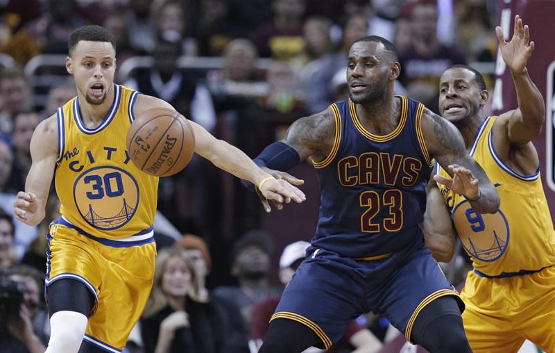 Horario de Warriors vs Cavaliers y cómo ver la Final NBA 2017 en vivo - horario-final-nba-2017-warriors-vs-cleveland