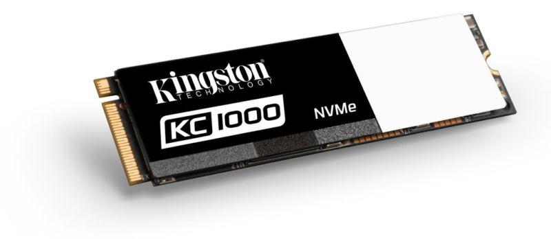 Kingston presenta SSD KC1000, fabricada para el usuario avanzado - kc1000_ssd_m-2-800x348