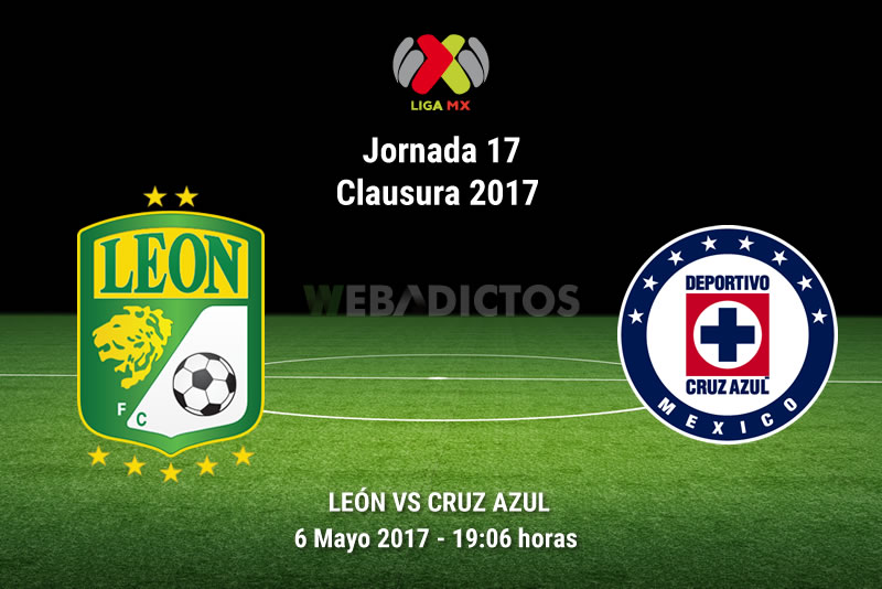 León vs Cruz Azul, Jornada 17 Clausura 2017 | Resultado: 1-2 - leon-vs-cruz-azul-j17-clausura-2017
