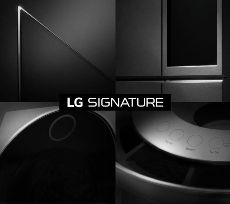 Electrodomésticos LG compatibles con Google Home - lg-signature-800x711