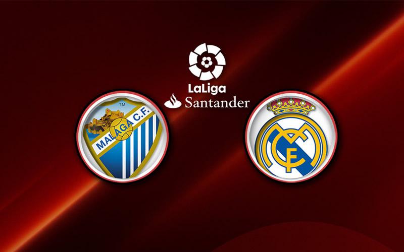 Real Madrid vs Málaga, Liga de España 2017 | Resultado: 0-2 - malaga-vs-real-madrid-2017