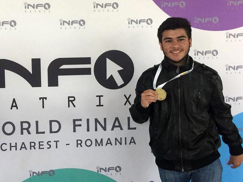 Preparatoriano mexicano gana oro por cortometraje en Informatrix Rumania - mexicano-informatrix-rumania