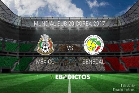 México vs Senegal, Mundial Sub 20 2017 | Resultado: 1-0