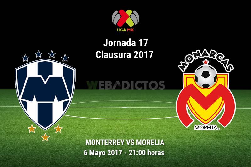 Monterrey vs Morelia, Jornada 17 del Clausura 2017   Resultado: 1-2 - monterrey-vs-morelia-j17-clausura-2017