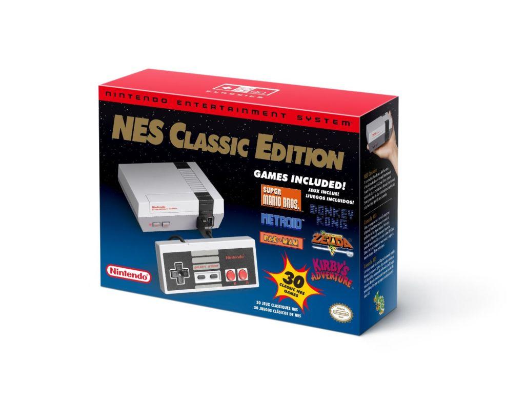 Nintendo explica por qué la NES Classic dejó de fabricarse - nintendo-nes-classic-retail-box
