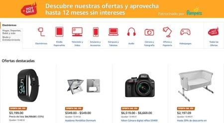 Primeras ofertas de Hot Sale 2017 en Amazon México