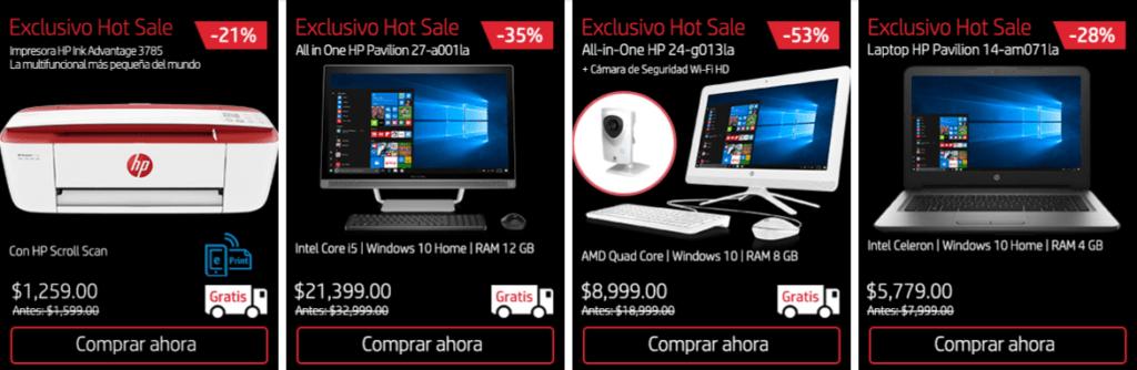 HP llega al HotSale México 2017 con una gran variedad de productos - promociones-hot-sale-hp