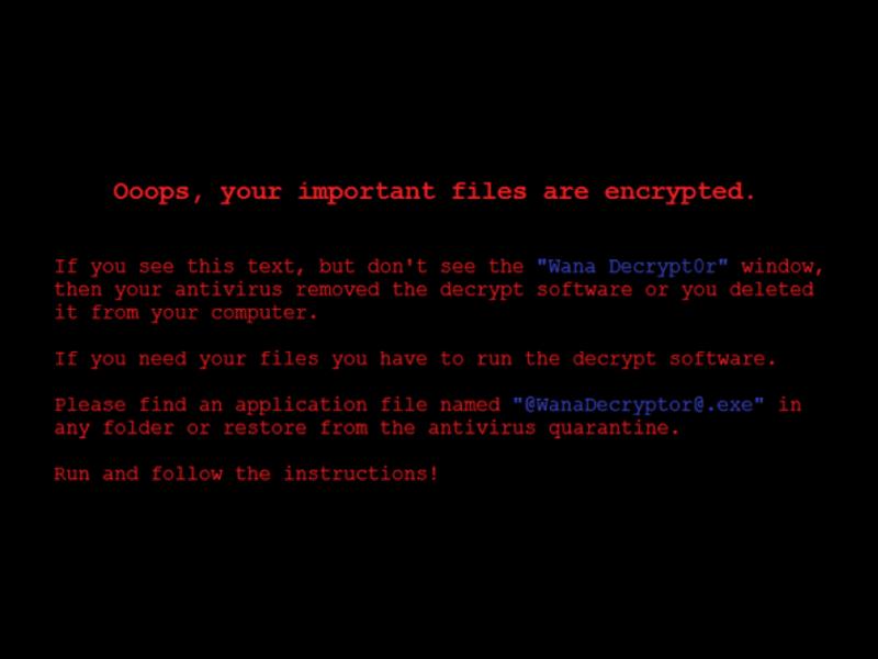 El ransomware que infectó sistemas de Telefónica y de hospitales británicos se propaga rápidamente - ransomware-wanacrypt0r_d-800x600