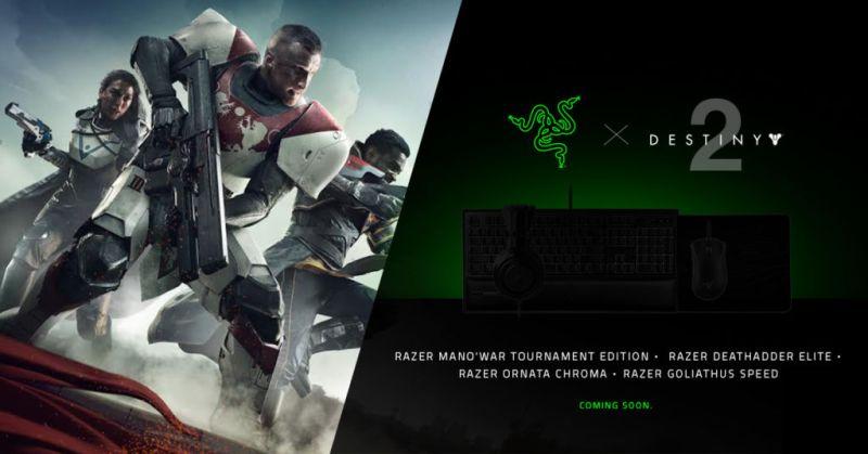 razer destiny 2 800x419 Razer lanza periféricos para Destiny 2