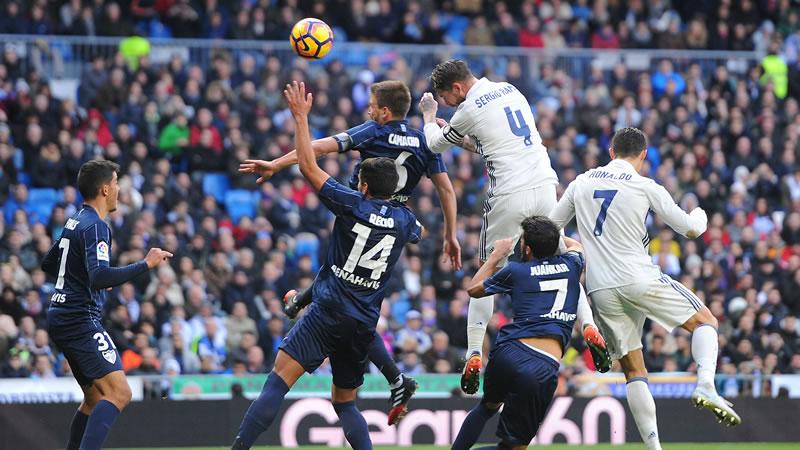 Real Madrid vs Málaga, Liga de España 2017   Resultado: 0-2 - real-madrid-vs-malaga-2017
