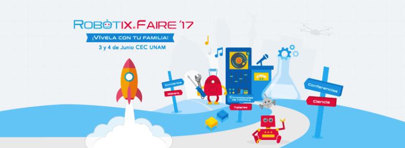 robotix faire 800x294 Llega RobotiX FAIRE, la competencia de robótica para niños más grande de Latinoamérica