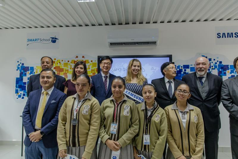 Samsung inaugura Aula Digital en secundaria técnica de la CDMX - samsung-aula-digital-cdmx