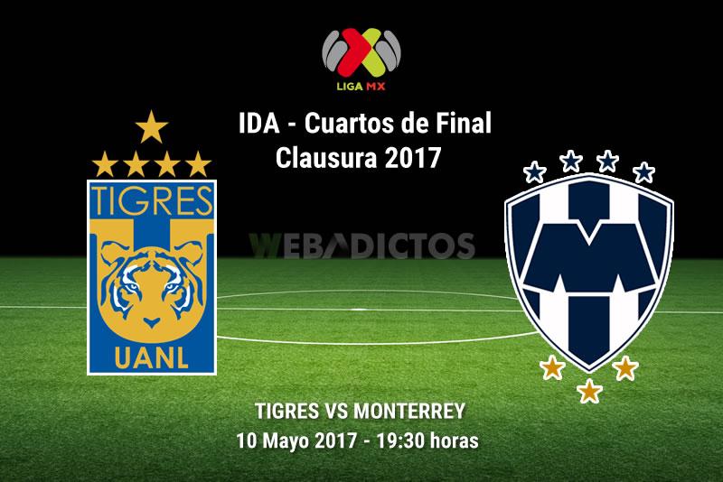 Tigres vs Monterrey, Liguilla del Clausura 2017   Resultado: 4-1 - tigres-vs-monterrey-liguilla-clausura-2017
