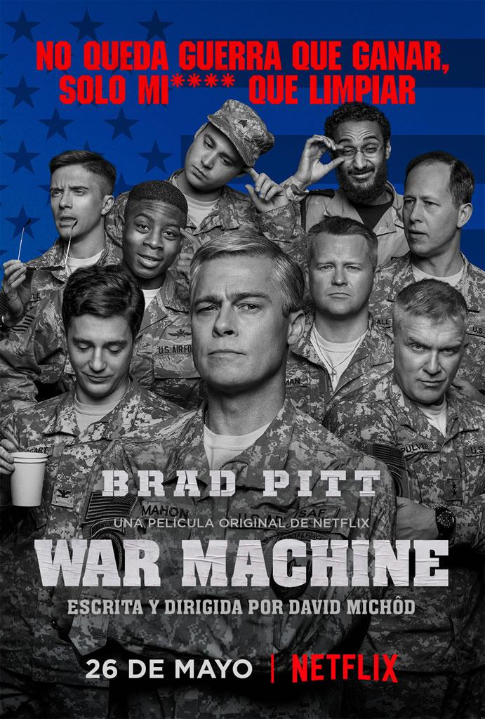 Netflix revela nuevo trailer de War Machine - trailer-warmachine