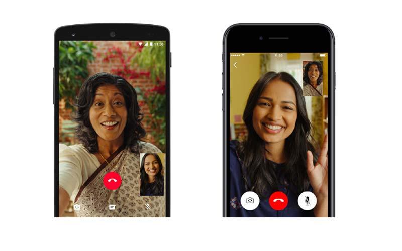 India, país líder en uso videollamadas por WhatsApp - whatsapp_videocall_big1