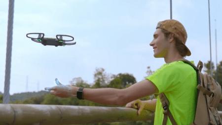 Llega a México Spark, el primer dron que se controla con las manos