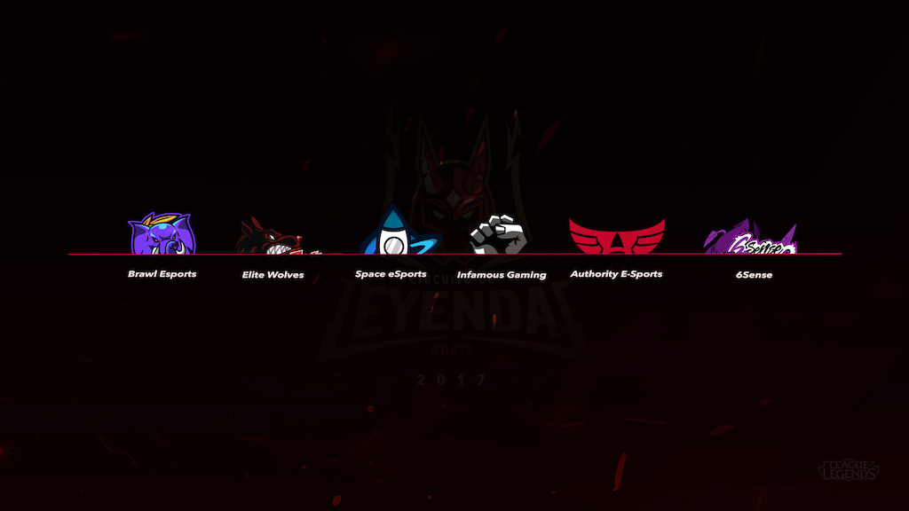 Arranca el Circuito de Leyendas de League of Legends - equipos-participantes-en-circuito-de-leyendas-clausura-2017