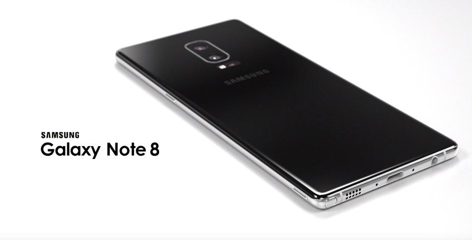 El Galaxy Note 8 será el primer smartphone potenciado por el Snapdragon 836 - galaxy-note-8-concept