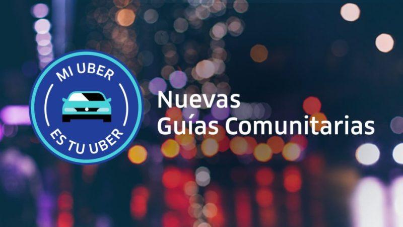 Uber lanza guías comunitarias para mejorar la convivencia durante los viajes - guias-comunitarias-uber-800x450