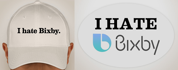 """""""I HATE Bixby"""", una funda que oculta el botón dedicado al asistente en los Galaxy S8 - ihb-goodies"""