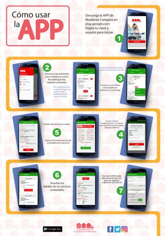 Mudanza Compara, startup creada para que realices tu mudanza de forma rápida y sencilla - info-app-565x800