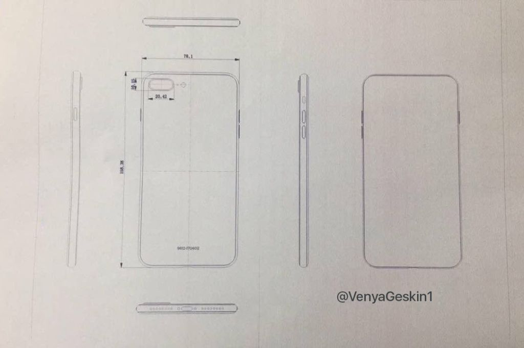 """Esquemas """"finales"""" del iPhone 8 y del 7S Plus aparecen en la web - iphone-7s-final-schematics"""
