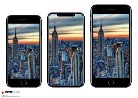 Aparecen partes del iPhone 8, muy similares a renders