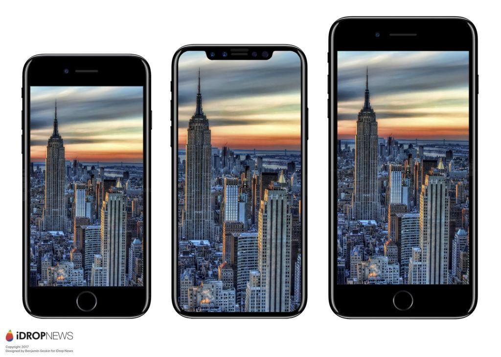iphone 8 idrop news renders Aparecen partes del iPhone 8, muy similares a renders