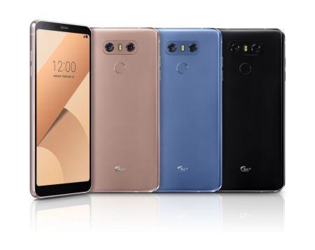 LG presenta al G6 Plus: más RAM y memoria interna, junto con audio Hi-Fi