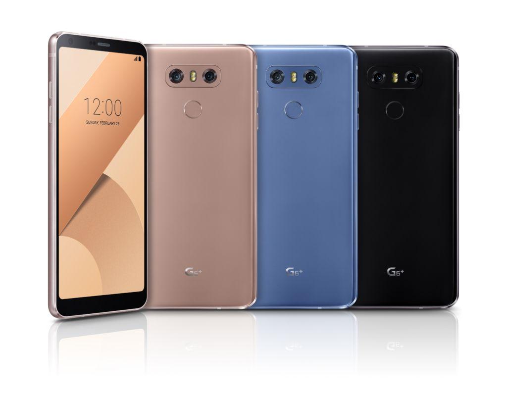 LG presenta al G6 Plus: más RAM y memoria interna, junto con audio Hi-Fi - lg-g6-plus-colors