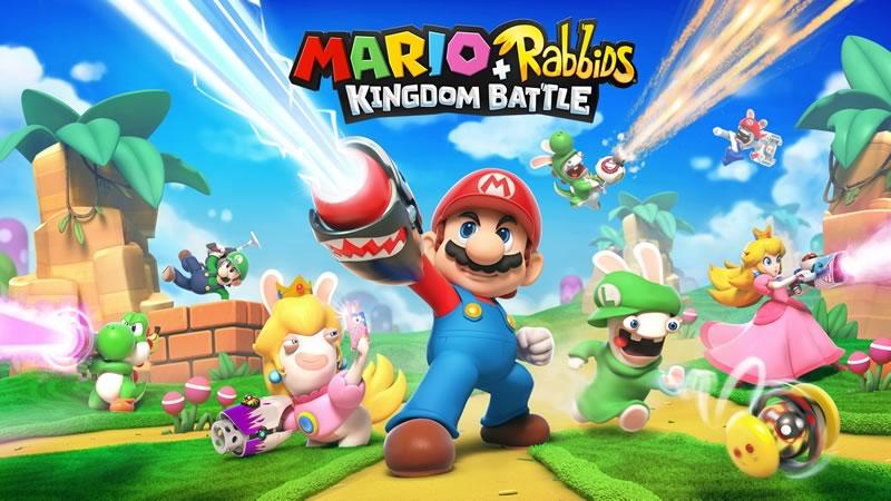 Ubisoft y Nintendo se unen para lanzar Mario + Rabbids Kingdom Battle - mario-rabbids-kingdom-battle