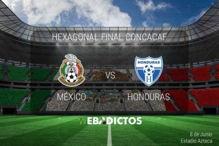 México vs Honduras, Hexagonal CONCACAF 2017 ¡En vivo por internet!