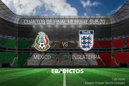 México vs Inglaterra, Mundial Sub 20 2017 | Resultado: 0-1
