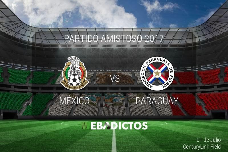 México vs Paraguay, Partido Amistoso 2017 ¡En vivo por internet! - mexico-vs-paraguay-amistoso-2017
