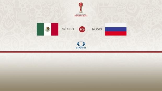 México vs Rusia, Copa Confederaciones 2017 | Resultado: 2-1 - mexico-vs-rusia-2017-en-vivo-televisa-deportes