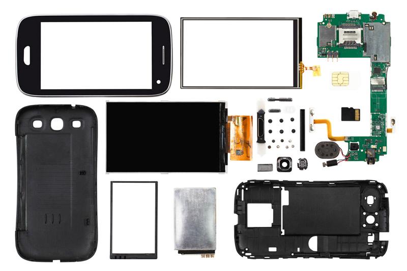 Conoce cómo está compuesto tu celular y descubre qué partes reciclar - partes-smartphone