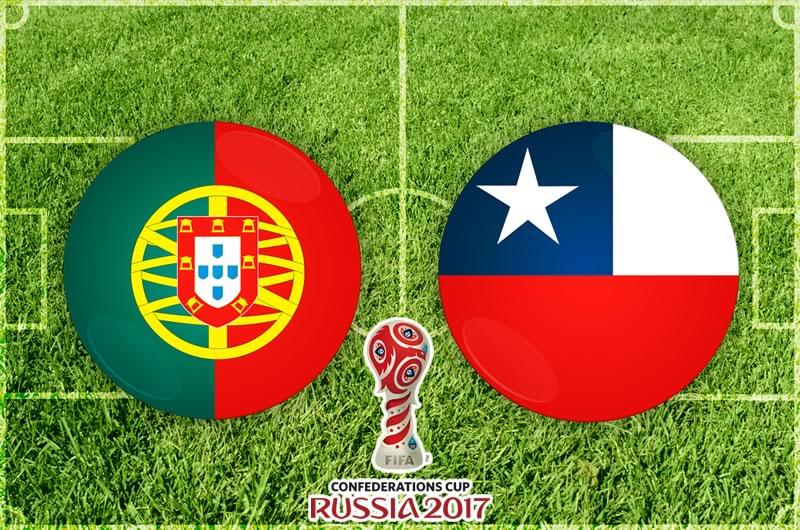 Portugal vs Chile, Semifinal Confederaciones 2017 | Resultado: 0(0)-0(3) - portugal-vs-chile-confederaciones-2017