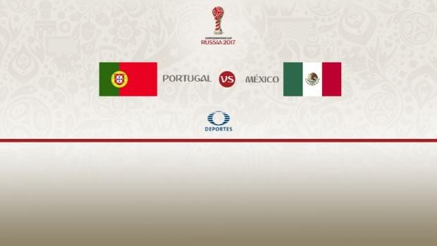 México vs Portugal, Copa Confederaciones 2017   Resultado: 2-2 - portugal-vs-mexico-confederaciones-2017