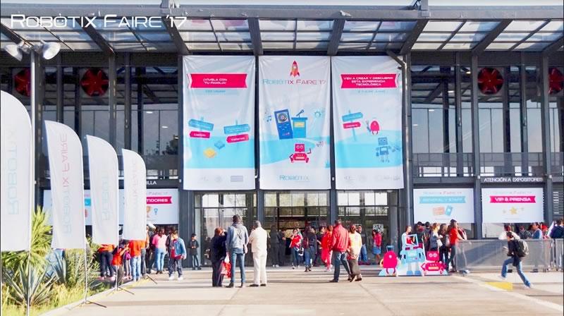Más de 14,000 visitantes asistieron al Robotix Faire 2017 - robotix-faire-2017-asistentes