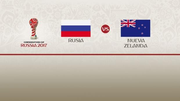 Rusia vs Nueva Zelanda, Inauguración Confederaciones 2017 | Resultado: 2-0 - rusia-vs-nueva-zelanda-confederaciones-2017-televisa-deportes